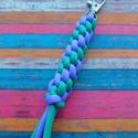 Hengeres paracord kulcstartó, Mindenmás, Kulcstartó, Henger formájú, 550 paracord zsinórból készült színes kulcstartó. Egyedi színben is rendelh..., Meska