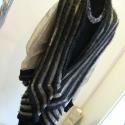 Art deco kötött kabát -fekete ruhával, Ruha, divat, cipő, Női ruha, Kabát, Ruha, Kötés, Varrás, Az  art deco  korszak stílusjegyei ihlették ezt a két darabból álló gépi kötött együttest. Nagy dek..., Meska
