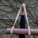 Boho jógamatrac pánt, Táska & Tok, Variálható táska, Csomózás, Ha szeretnél egyedi,kézzel készített hevedert a jógamatracodhoz,ezt neked készítettem! 100%-ban újr..., Meska