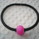 50%! Pink Pandora minimal karkötő, Ékszer, Esküvő, Karkötő, Most féláron vásárolhatod meg ezt a karkötőt. A feltüntetett ár már tartalmazza a kedvezményt.  Gumí..., Meska