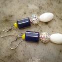 NO POSTA! Lapis lazuli shamballa gyönggyel - fülbevaló, Ékszer, Esküvő, Fülbevaló, Ebben a hónapban nem kell postadíjat fizetned, ha ezt a terméket megvásárolod. Az akció abban az ese..., Meska