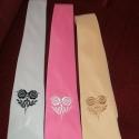 Kalocsai hímzéssel diszített nyakkendő, egyedi, Ruha, divat, cipő, Férfiaknak, Vőlegényes, Nagyon szép, egyedi kalocsai hímzéssel díszített nyakkendő több szinben, egyedi megrendelésr..., Meska