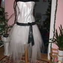 Menyasszonyi, alkalmi ruha, düssesz, tüllös, egyedi, Esküvő, Ruha, divat, cipő, Esküvői ruha, Varrás, Nagyon szép egyedi tervezésű ruhát kínálok menyasszonyi, alkalmi, báli ruhának. Anyaga düssesz, tül..., Meska