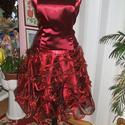 Menyecske, alkalmi, báli ruha, selyem- organza, Esküvő, Ruha, divat, cipő, Menyasszonyi ruha, Női ruha, Saját, egyedi tervezésű menyecske, alkalmi, báli ruhát kínálok. Anyaga selyem, tüll, csipke...., Meska