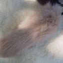 Róka szőrme, óriási róka farkinca kulcstartó (30cm), Férfiaknak, Mindenmás, Hagyományőrző ajándékok, Kulcstartó, Bőrművesség, Varrás, Valódi szőrméből készített, pihe-puha kulcstartó. mérete: kb 8-10x25-30cm színe: több színben  ára:..., Meska