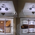 6 rekeszes nászajándék doboz / esküvői ajándék átadó doboz, Esküvő, Nászajándék, Festett tárgyak, A házasság nélkülözhetetlen kellékei!  Ha nem akarsz sokadik háztartási gépet, vagy csak borítékban..., Meska