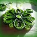 Zöld varázs, Ékszer, Ékszerszett, Ideális ajándék házassági évfordulóra,születésnapra a férjtől a kedvesének. Zöld szett. A medál átmé..., Meska