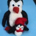 Pingu és Pingi , Otthon, lakberendezés, Mindenmás, , Meska