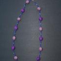 Lila varázs nyaklánc