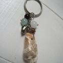 Kulcstartók - 350 Ft / db, Mindenmás, Kulcstartó, Tengerparti emlék - Kulcstartó - 25 mm átmérőjű ezüstszínű kulcskarikával 25 mm lánccal, ..., Meska