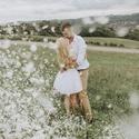 Fehér tüll szoknya Jegyes fotózásra , Ruha, divat, cipő, Női ruha, Szoknya, Estélyi ruha, Varrás, Mindig nagy kedvencem volt a tüll de most hogy végre a hétköznapi ruházat része lett most végre ki ..., Meska