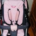 Pamut betét  baba kocsiba - több féle  - 100% pamut - etető székbe- hordozóba -babakocsiba-autósülésbe - univerzális , Baba-mama-gyerek, Baba-mama kellék, Varrás, Mindkét oldalán használható  bátran mosható steppelt  100% pamut betét  izzadás ellen - komfortos é..., Meska