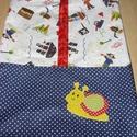 Ovis ruha zsák vállfás - patchwork ovis jel applikációval, Egyéb, Otthon & lakás, Lakberendezés, Lakástextil, Ágynemű, Szeretettel nektek  100%  pamut textil  További fotókat a választható textilekről leütés után küldök..., Meska
