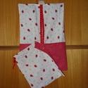 2 db-os 4 féle katicás ovis jel mintájú és sok más ovis ruha- és tornazsák szett   100% design pamut, Otthon & lakás, Gyerek & játék, Lakberendezés, Lakástextil, 100% design pamut textil - választható textilből - névvel, ovis jellel i  2 db-os ovis ruha - és tor..., Meska