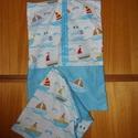 2 db-os fiús vállfás ovis ruha- és tornazsák szett   100% design pamut - ökotex kombó, 100% design pamutvászon textil - választható te...