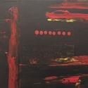 Ébredés - Absztrakt festmény, Művészet, Festmény, Festészet, Akrill festmény 40x27cm-es méretben. Feszített vászonra készült és keret nélkül kínálom, Meska