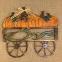 Őszi ajtódísz., Dekoráció, Otthon, lakberendezés, Asztaldísz, Felakasztható, őszi ajtódísz, két színben. , Meska