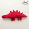 Plüss játék dínó (piros) dino, dinoszaurusz, Piros, puha babaplüss játék dinoszaurusz. Minde...