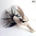 Óriás balerina-nyuszi (fekete szoknyával) játék, dekoráció, Ki ne szeretné a nyuszikat és a balerinákat? Mo...