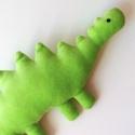Plüss játék dínó (zöld) dino, dinoszaurusz, Zöld, puha babaplüss játék dinoszaurusz. Minde...