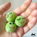 Mini zöldborsó plüss, Sokak kedvence a plüss cukorborsó, így ezeknek ...