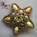 Double Star csillag fűzésminta (manominta) - Meska.hu
