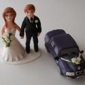 BMW-s nászpár autóval, Esküvő, Esküvői dekoráció, Nászajándék,  Ha úgy érzed, hogy feldobnád az Esküvőd valami nem hétköznapival, akkor a legjobb helyen jársz! :) ..., Meska