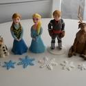 Frozen / Jégvarázs marcipán figurák, Baba-mama-gyerek, Mindenmás, Ha úgy érzed, hogy feldobnád a gyermeked Szülinapját valami igazán egyedivel és széppel, akkor a leg..., Meska