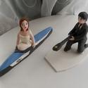 Kenus nászpár, Esküvő, Esküvői dekoráció, Nászajándék, Ha úgy érzed, hogy feldobnád az Esküvőd valami nem hétköznapival, akkor a legjobb helyen jársz! :) E..., Meska