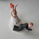 A nagy fogás :)  nászpár horgász bottal, Esküvő, Esküvői dekoráció, Nászajándék, Ha úgy érzed, hogy feldobnád az Esküvőd valami nem hétköznapival, akkor a legjobb helyen jársz! :) E..., Meska