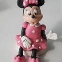 Minnie marcipán figura, Mindenmás, Ha úgy érzed, hogy feldobnád a gyermeked Szülinapját valami igazán egyedivel és széppel, akkor a leg..., Meska