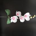 Cukor orchidea ág / Cukorvirág, Mindenmás, Drótos cukorvirág technikával készült orchidea ág. A virágokat lehet kérni külön-külön darabra is. (..., Meska