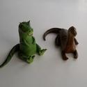 Dinoszaurusz marcipán figura: T-Rex és hosszú nyakú dinó, Mindenmás, Ha úgy érzed, hogy feldobnád a gyermeked, szeretted Szülinapját valami igazán egyedivel és széppel, ..., Meska