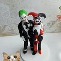 Joker nászpár , Esküvő, Esküvői dekoráció, Nászajándék, Ha úgy érzed, hogy feldobnád az Esküvőd valami nem hétköznapival, akkor a legjobb helyen jársz! :) E..., Meska