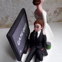 GAME OVER nászpár, Esküvő, Nászajándék, Esküvői dekoráció,  Ha úgy érzed, hogy feldobnád az Esküvőd valami nem hétköznapival, akkor a legjobb helyen jársz! :) ..., Meska