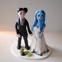Halott menyás nászpár, Esküvő, Esküvői dekoráció, Nászajándék, Ha úgy érzed, hogy feldobnád az Esküvőd valami igazán egyedivel, akkor a legjobb helyen jársz! :) Eg..., Meska
