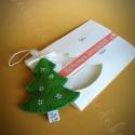 Illatos képeslap fenyőcskével, Bubudekor egyedi képeslapok! Küldd el a karácso...