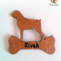 Kutyás póráztartó karácsonyi kedvenc, Ajándék kutyáknak és gazdiknak Boxer névre sz...