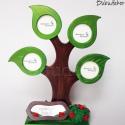 Családfa képkeret mágneses 4 ágú, A családfa mágneses képkeret nagy kedvenc a Bub...