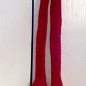 Kézzel kötött, bordó, kála alakú sál, nyakdisz, Ruha, divat, cipő, Kendő, sál, sapka, kesztyű, Sál, Kötés, Kézzel kötött, bordó kála alakú sál, nyakdisz. Hossza 175 cm. Más szinben rendelhető! Rendelés eset..., Meska