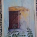 ZÁRVA, Képzőművészet, Otthon, lakberendezés, Festmény, Olajfestmény, Festészet, A kép mérete;41x54cm fa léc keretben, rétegelt falemezve olajjal festve. , Meska