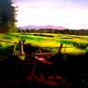 Repcemező , Képzőművészet, Festmény, Olajfestmény, 40x60 cm Olaj, vászon.  Keret nélkül  , Meska