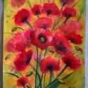 Summer lovin' - eredeti akvarell festmény, Képzőművészet, Festmény, Akvarell, Festészet, 24x32cm-es eredeti akvarellfestmény művész akvarellpapíron, keret nélkül.     , Meska