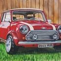 Mini - eredeti akvarell festmény, Képzőművészet, Festmény, Akvarell, 26x38cm-es eredeti akvarellfestmény művész akvarellpapíron, keret nélkül.     , Meska