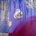 Napfázisok - eredeti akrilfestmény, Képzőművészet, Festmény, Akril, Akril, farost 50x40 cm, keret nélkül, Meska