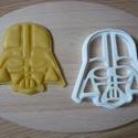 Star Wars( Darth Vader) sütemény kiszúró forma, Konyhafelszerelés, Férfiaknak, Mindenmás, 3D eljárással készült sütemény kiszúró forma.  Mérete a legszélesebb pontjain:8,5x8,5cm., Meska