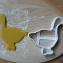 Lúd sütemény kiszúró forma, Konyhafelszerelés, Mindenmás, 3D eljárással készült sütemény kiszúró forma.  Mérete a legszélesebb pontjain:9x7cm., Meska