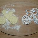 Kerékpár sütemény kiszúró forma, Konyhafelszerelés, 3D eljárással készült sütemény kiszúró forma., Meska