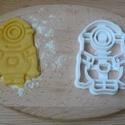 minyon sütemény kiszúró forma, Konyhafelszerelés, Dekoráció, Mindenmás, Ünnepi dekoráció, Karácsonyi, adventi apróságok, 3D eljárással készült sütemény kiszúró forma.  , Meska