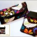 Szett  picasso197 részére, Textilbőrből és pamutvászonból készült tás...